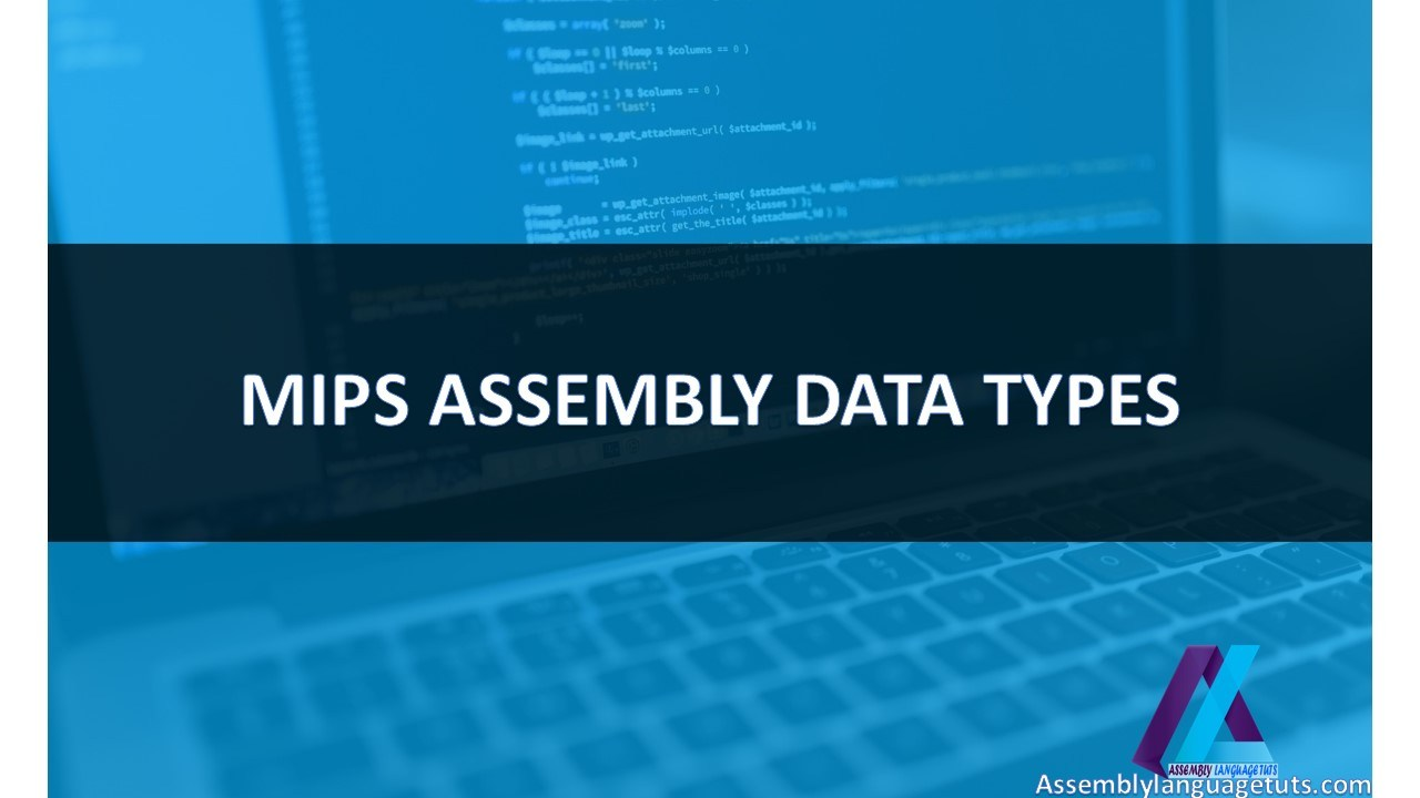 MIPS ASSEMBLY DATA TYPES