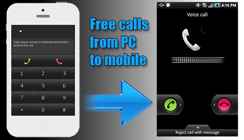 How to make calls by using iEvaPhone