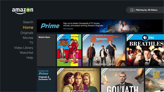 How to use Amazon Prime video on the computer