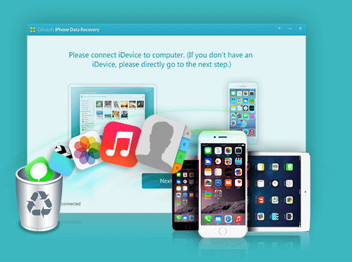 Perform data recovery in iPhone