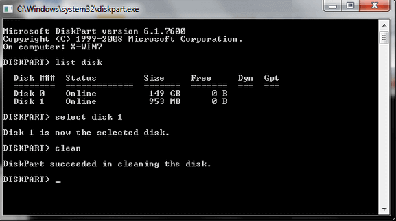 Converting the disk from GPT to MBR