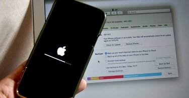 How do you restore an iPhone to factory settings easily