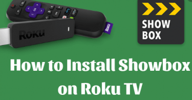 How do you install Showbox on Roku
