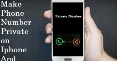 How to Make Your Number Private