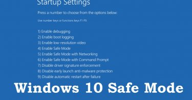 How to Start Your Windows 10 PC in Safe Mode
