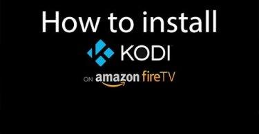 How to install Kodi on Amazon Firestick