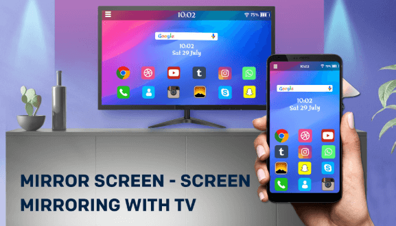 Mirroring your screen to a TV