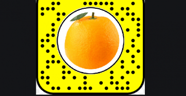 What does the fruit on Snapchat mean