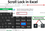 What is excel scroll lock and how to turn it off?