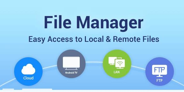 Substantial features of ES file manager