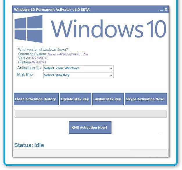 Windows 10 activator-A perfect tool for your windows!