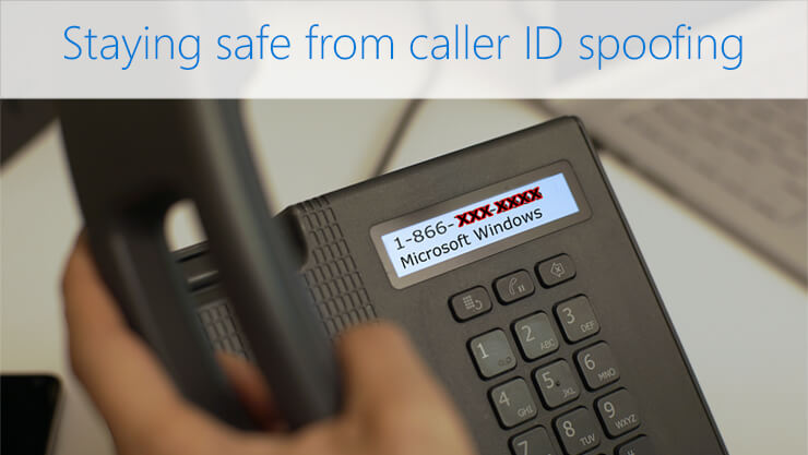 All about Caller ID spoofing
