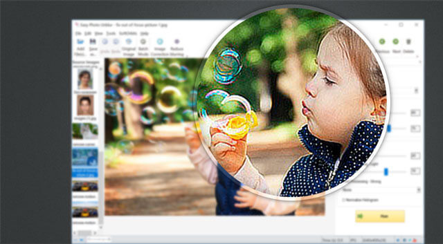 Top unblur photo software for sharpening your image in the best way!