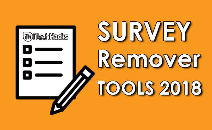 Best Survey Removers to remove random surveys from your website!