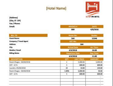 12 Best Fake Hotel Receipt Generator