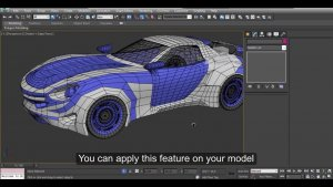 3Ds Max For Car Designing