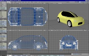 AutoCAD Revit LT Suite: 3D Car Model Designing