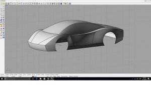 Rhino 3D: Design your own 3d Car